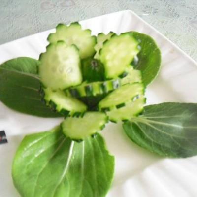 黃瓜花(擺盤盤飾)