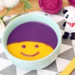 寶寶輔食食譜  南瓜紫