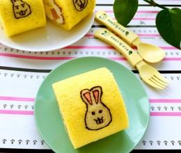 小兔蛋糕卷