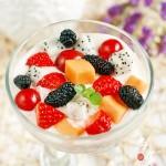 水果酸奶捞