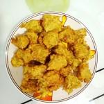 炸萝卜肉丸子
