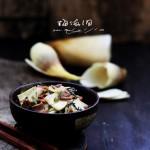 鲜笋雪菜炒腊肉