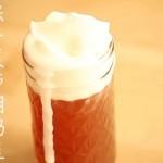 栗子蒙布朗奶盖茶