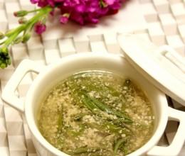 莼菜肉末汤