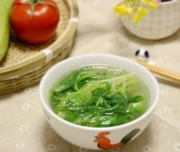 苦苣扇骨汤