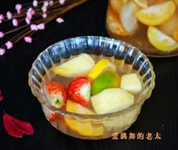 蜂蜜水果茶