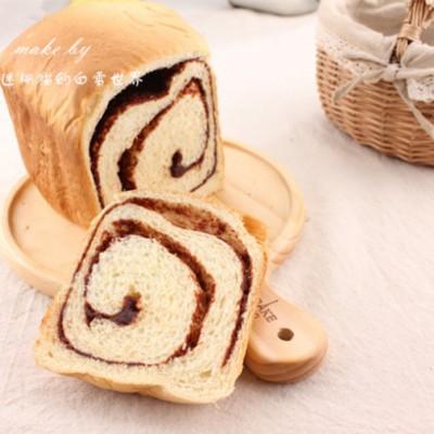 面包机做面包的方法--红豆沙吐司