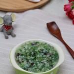 黑木耳荠菜粥
