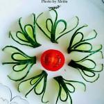 黄瓜花-摆盘围边