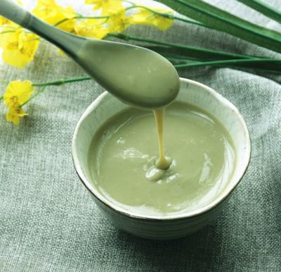 茶香顺滑绿豆沙