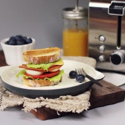 开放式软欧三明治