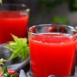 草莓西瓜汁