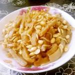 豆芽白菜炒灌肠