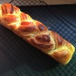 辮子丹麥面包