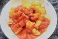 西红柿炖土豆