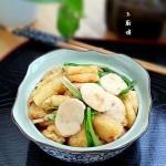肉丸片炒油豆腐