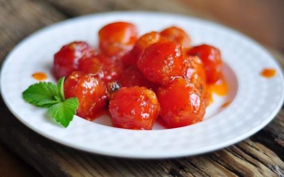 番茄西瓜球