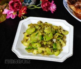 酸菜蚕豆瓣