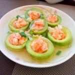 虾酿西葫芦