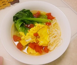 番茄鸡蛋汤面