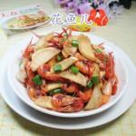 河虾怎么做好吃-茭白炒河虾