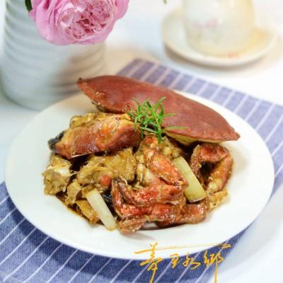 葱烧面包蟹