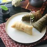 家乡绿豆肉粽子