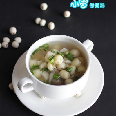莲子百合排骨汤
