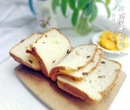 酸奶提子面包