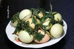 艾叶煮鸡蛋