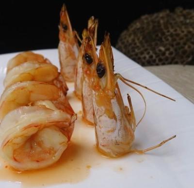 酸辣汁焗虾