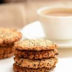 燕麦黑芝麻高纤饼干
