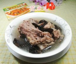 黑木耳筒骨汤