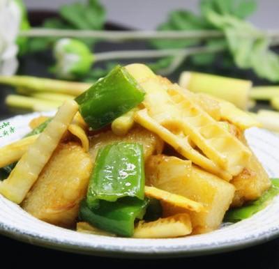 春笋炒粽子--剩粽子怎么吃