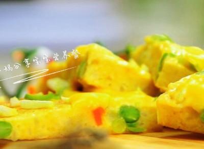 蔬菜奶酪米饭煎饼