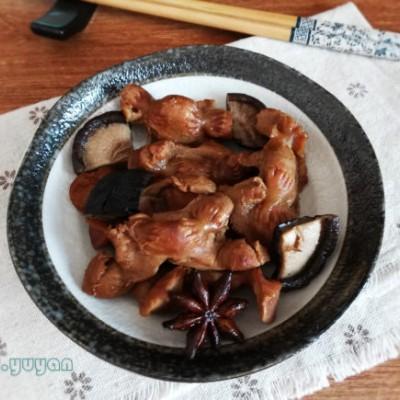 香菇卤鸡胗