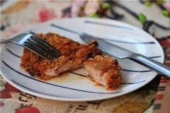 香炸鸡胸肉