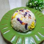 紫甘藍蛋炒飯