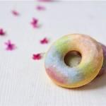 蔬菜汁彩虹甜甜圈