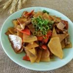 炒辣椒土豆片