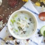 丝瓜虾皮粥