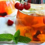 黑乌龙水果茶