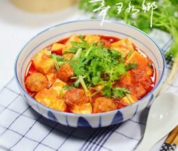 酸汤丸子烧豆腐