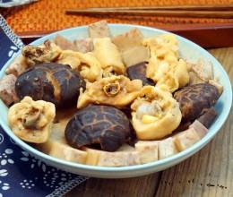 香芋花菇蒸滑鸡