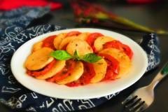 西红柿煎土豆