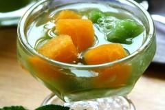 甜橙凉瓜冰