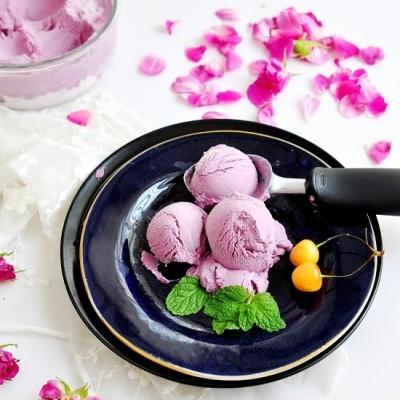 紫薯蜂蜜冰淇淋
