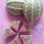 奶香西瓜馒头
