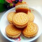 黄金车轮南瓜饼