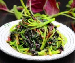 蒜蓉炒紫苋菜#盛夏餐